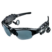 Solbriller med MP3-spiller med Bluetooth (2GB, svart)