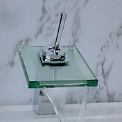 Integroitu Yksi kahva yksi reikä in Kromi Kylpyhuone Sink hana