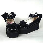 Zapatos Amaloli Princesa Tacón alto Zapatos Lazo 6.5 CM Para Cuero Sintético/Cuero de Poliuretano Poliuretano Cuero