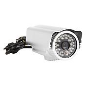 1,0 megapíxeles cámara IP inalámbrica para exteriores impermeable con Iphone y Andriod App (H.264, versión nocturna, detección de movimiento, IR-CUT)