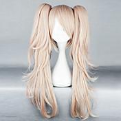 Cosplay Wigs Dangan Ronpa Junko Enoshima Roza Medium Anime / Video Igre Cosplay Wigs 65 CM Otporna na toplinu vlakna Female