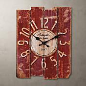 "15 ""Reloj de pared de estilo vintage país"