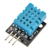 (Para arduino) Módulo de sensor de humedad de temperatura digital DHT11 compatible