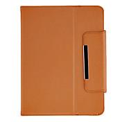 8インチのタブレット(ブラウン)用スタンドとファッションデザインProtectioveケース