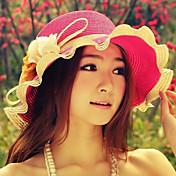 Dámská móda Flower Wave Sun Hat