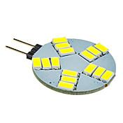 5W G4 Focos LED 15 SMD 5630 330 lm Blanco Fresco DC 12 V