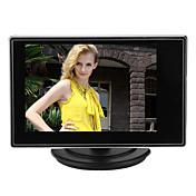 3.5 pulgadas tft lcd monitor ajustable para cámara cctv con av rca entrada de sonido de vídeo