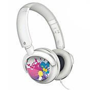 iPod用のベースサウンドで、オーバーイヤーヘッドフォン(ホワイト)