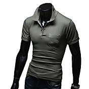 Hombre Camisa para senderismo para Ejercicio y Fitness Deportes recreativos Primavera Otoño M L XL XXL