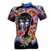 ILPALADINO Maillot de Ciclismo Hombre Mujer Manga Corta Bicicleta Camiseta/Maillot Tops Secado rápido Resistente a los UV Transpirable