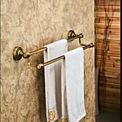 Tyč na ručníky Vintage bronz Na ze´d 60*14cm(23.62*5.51inch) Mosaz Vintage