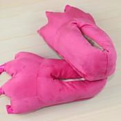 着ぐるみ パジャマ 恐竜 シューズ スリッパ イベント/ホリデー 動物パジャマ ハロウィーン ピンク ゼブラプリント スリッパ ために 男女兼用 ハロウィーン