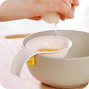 mini vaječný žloutek bílá separátor s držákem silikonová kuchyňské nářadí vaječného dělič