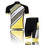 XINTOWN Maillot de Ciclismo con Shorts Hombre Manga Corta Bicicleta Manguitos Camiseta/Maillot Shorts/Malla corta Sets de Prendas Secado
