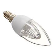 E14 Luces LED en Vela 10 SMD 3528 140-160 lm Blanco Fresco AC 100-240 V