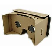 AndroidデバイスのためのDIYのgeekergo段ボールグーグル段ボール仮想現実の3Dメガネ