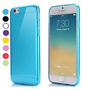 iphone 6S 6のための超薄型スタイル柔らかい柔軟なTPUカバープラス