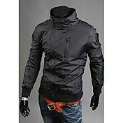 charelsのメンズファッションのすべてを一致させたスリムコートジャケット