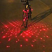 自転車用ライト 自転車用ヘッドライト 後部バイク光 バーエンドライト LED Laser サイクリング アラーム マルチツール 警告 ルーメン バッテリー サイクリング
