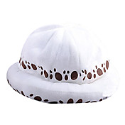 Čepice / klobouk Inspirovaný One Piece Trafalgar Law Anime Cosplay Doplňky Nabírané / Klobouk Biały Terylen Pánský
