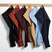 Trend of men's casual straight tube long casual pants 8739