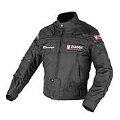 男性の減摩と取り外し可能な綿の裏地付き防風オートバイのジャケットduhan®