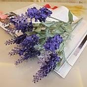 Rama Seda Plástico Lavanda Flor de Mesa Flores Artificiales