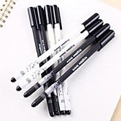 Totoro crna tinta gel olovka (1 kom slučajnim boji)