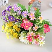 ブランチ シルク プラスチック ヒナギク テーブルトップフラワー 人工花