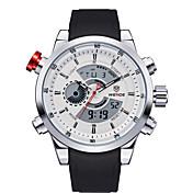 男性のファッショナブルな時計はクォーツ防水LED多機能(アソートカラー)を見る