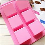 herramientas de cocina jabón hielo modelado pastel cocina molde de la torta de chocolate decoración de utensilios para hornear de silicona