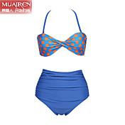 Bikini (Nailon/Otros Halter para Para Mujer