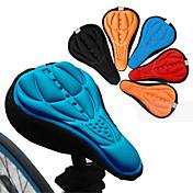 自転車サドル サドル・カバー/クッション マウンテンバイク ロードバイク レクリエーションサイクリング サイクリング/バイク シリコン 3D 高通気性 ブラック レッド ブルー オレンジ
