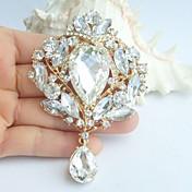 結婚式 イミテーションダイヤモンド クロス ホワイト ジュエリー のために 結婚式 パーティー 誕生日