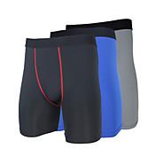 Hombre Unisex Shorts de running Shorts apretados de running Mantiene abrigado Secado rápido Resistente a los UV Aislado Permeabilidad a