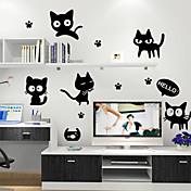 zidne naljepnice zidne naljepnice, crne mačke PVC zidne naljepnice