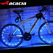 自転車用ライト / ホイールライト LED - サイクリング セルバッテリ 400 ルーメン バッテリー / USB サイクリング-アカシア®