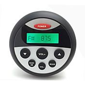 h-808 impermeable mp3& radio FM / AM reproductor de audio estéreo con el carro de la función del bluetooth forgolf