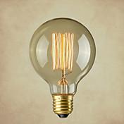 純粋な銅のランプキャップレトロヴィンテージE26芸術フィラメント電球工業用白熱電球の40ワット