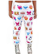 De las mujeres Pantalones Ancho - Bonito Microelástico - Otro