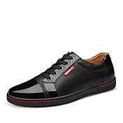 Zapatos de Hombre Oxfords Oficina y Trabajo / Casual / Fiesta y Noche Cuero Negro / Azul