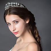 Mujer Diamantes Sintéticos Aleación Celada-Boda Tiaras 1 Pieza