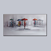 Pintada a mano FantasíaModern Un Panel Lienzos Pintura al óleo pintada a colgar For Decoración hogareña