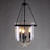 Závěsná světla ,  Tradiční klasika Venkovský styl Retro Země Obraz vlastnost for LED KovObývací pokoj Ložnice Jídelna Koupelna studovna