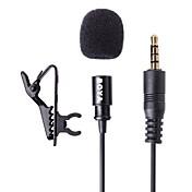 boya de corbata por LM10 micrófono de condensador omnidireccional para Apple iPhone, iPad, Android y Windows smartphones