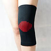 膝用サポーター スポーツサポート 伸縮性 暖かい/熱 防風 登山 フィットネス 白 黒フェード