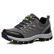 男性 ハイキング 靴 スエード / チュール グリーン / グレイ / ネービー