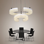 30W Lámparas Colgantes ,  Moderno / Contemporáneo Otros Característica for LED AcrílicoSala de estar / Dormitorio / Comedor / Habitación