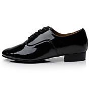 Zapatos de baile ( Negro / Blanco ) - Latino / Samba - No Personalizables - Tacón Cuadrado