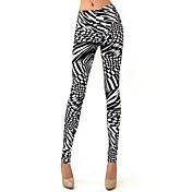 De las mujeres Pantalones Ajustado - Sexy Microelástico - Otro